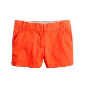 J. Crew broken in chino shirt size 6 orange